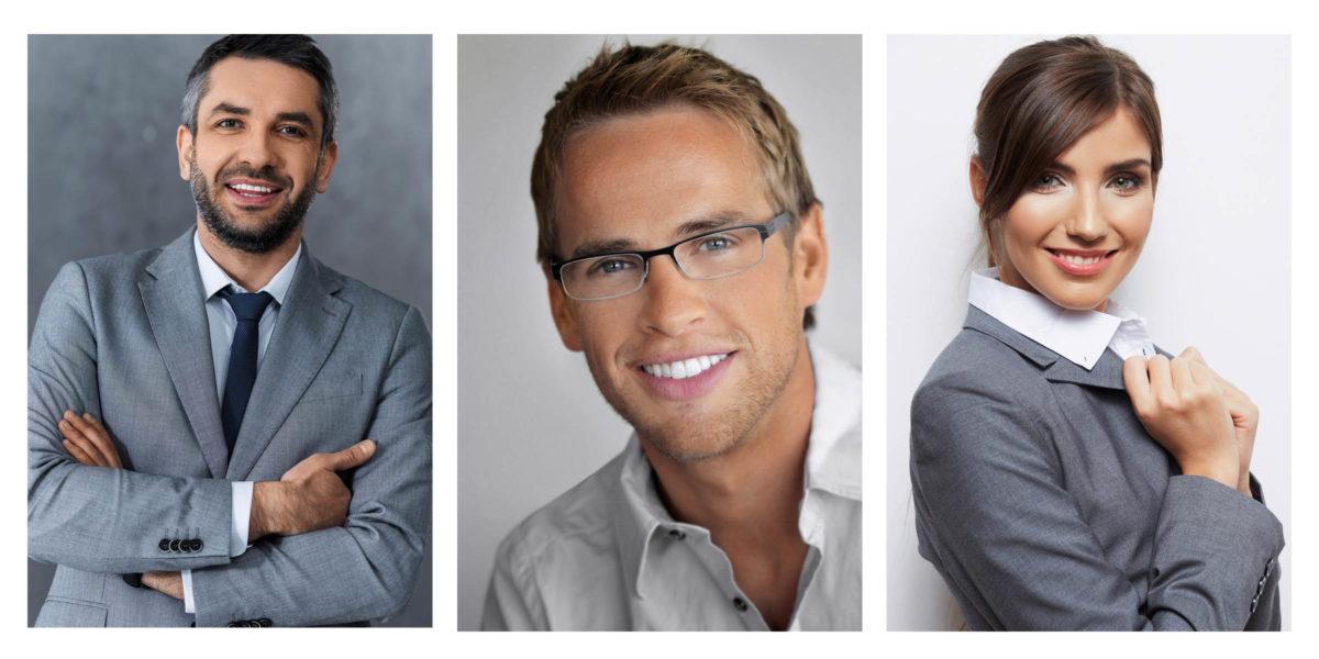Business photo retouching