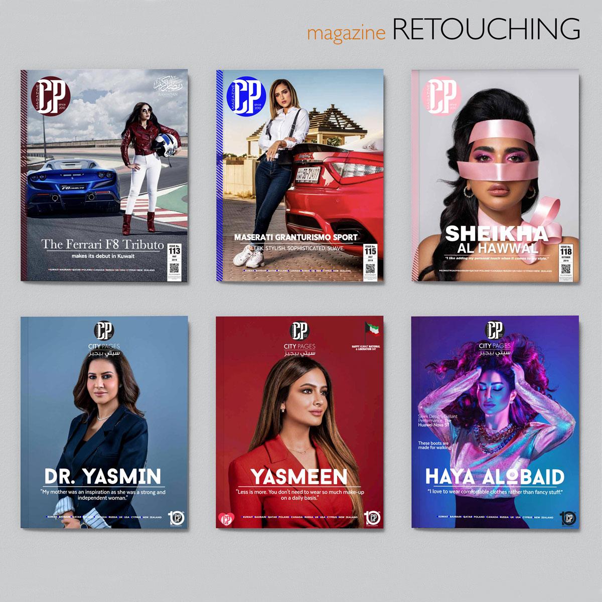 magazine retouching