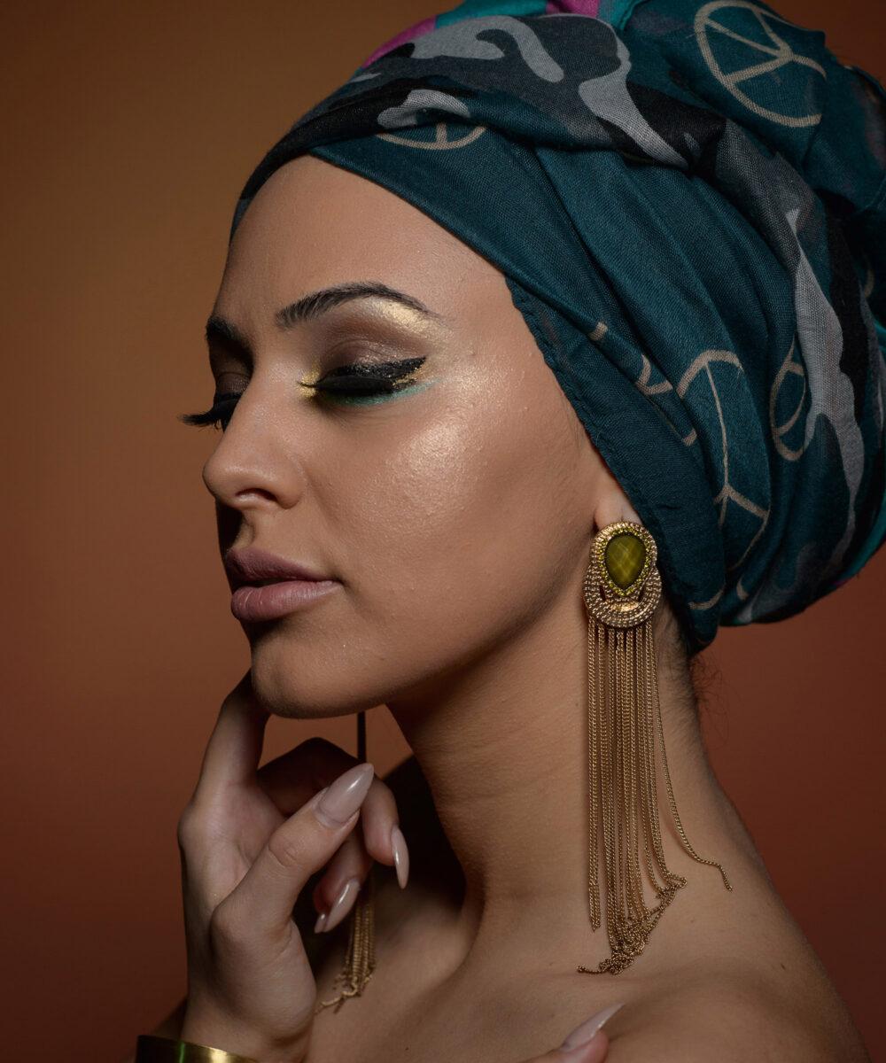 Beauty retouching before